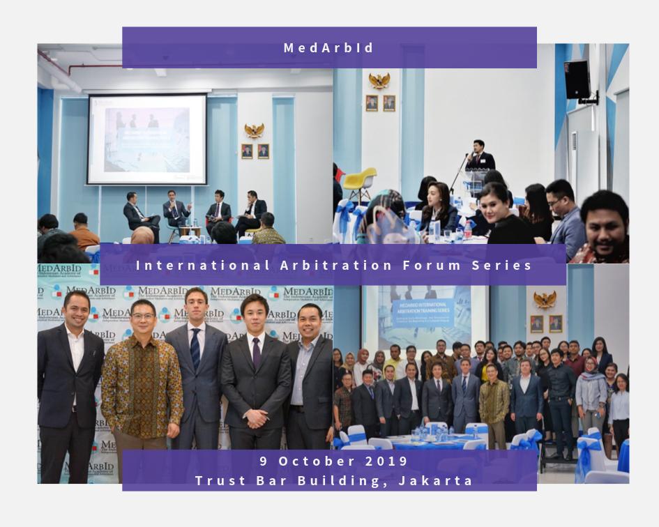 <p>International Arbitration Forum Series - 1st Series</p>