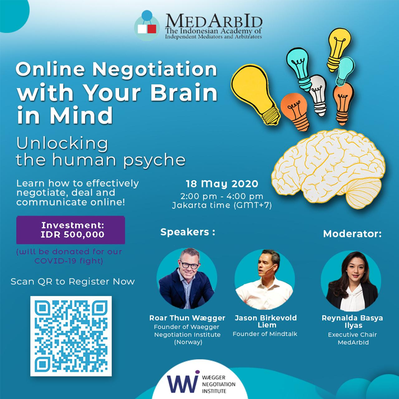 <p>Webinar with Waegger Negotiation Institute</p>